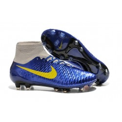 New Shoes - Nike Magista Obra Firm-Ground Football Cleats Navy Blue Grey