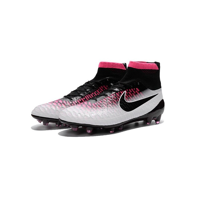 2016 nike magista obra firm ground soccer shoes black white red. Black Bedroom Furniture Sets. Home Design Ideas