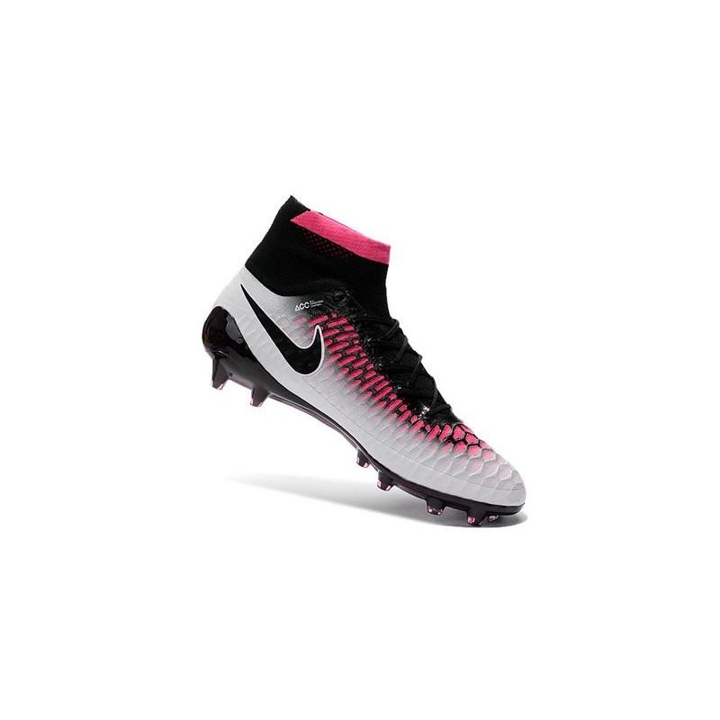2016 nike magista obra firmground soccer shoes black