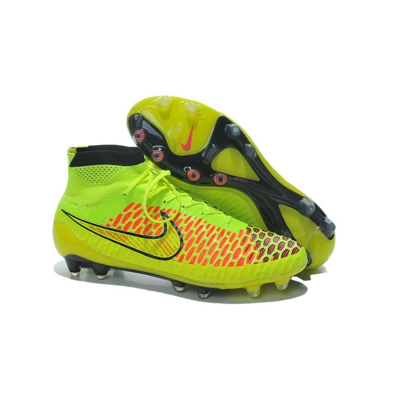 various colors edf3d 8133a Nike Magista Obra FG Soccer Cleats - Low Price Volt Metallic Gold Coin Black  Hyper Punch
