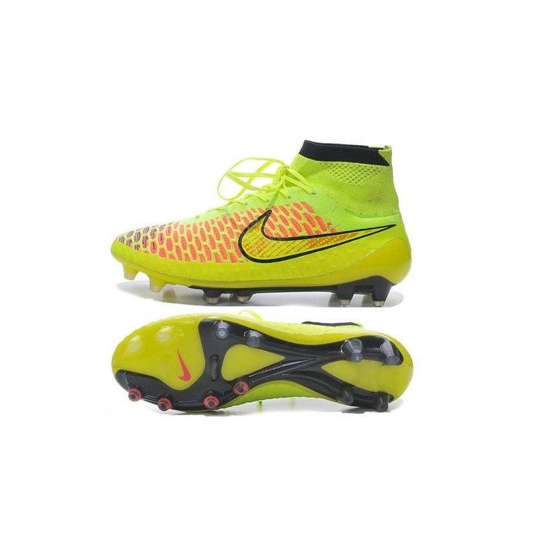 buy online 9b8d8 5a276 Nike Magista Obra FG Soccer Cleats - Low Price Volt Metallic Gold Coin  Black Hyper Punch