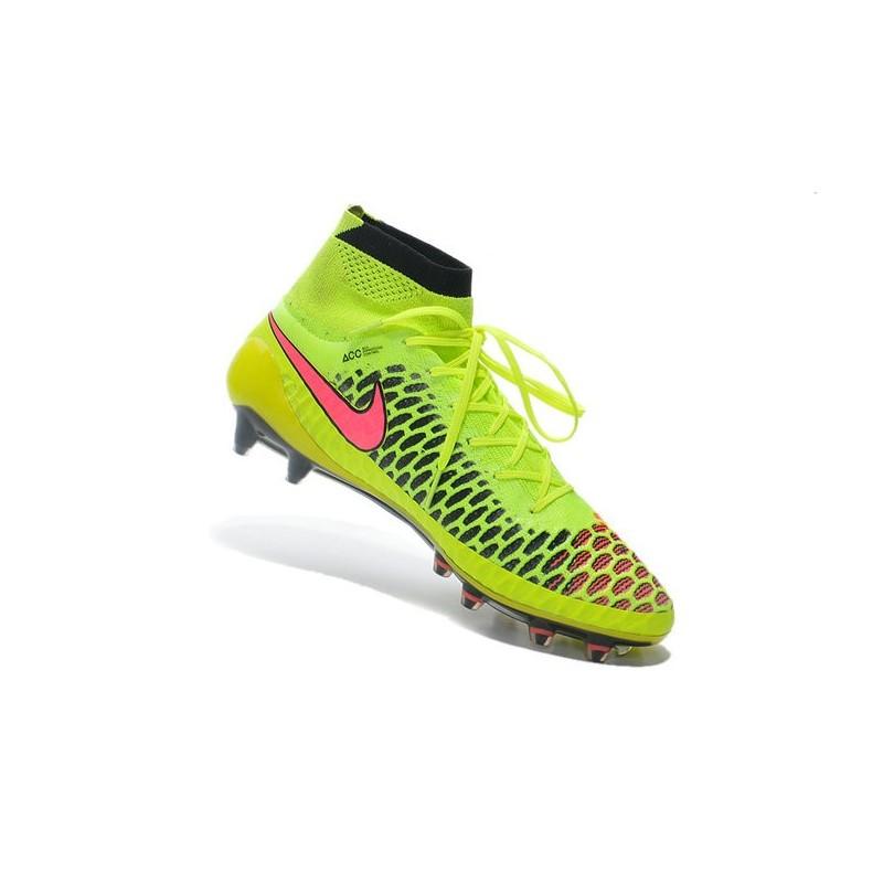 buy online c8910 0c729 Nike Magista Obra FG Soccer Cleats - Low Price Volt Metallic Gold Coin  Black Hyper Punch