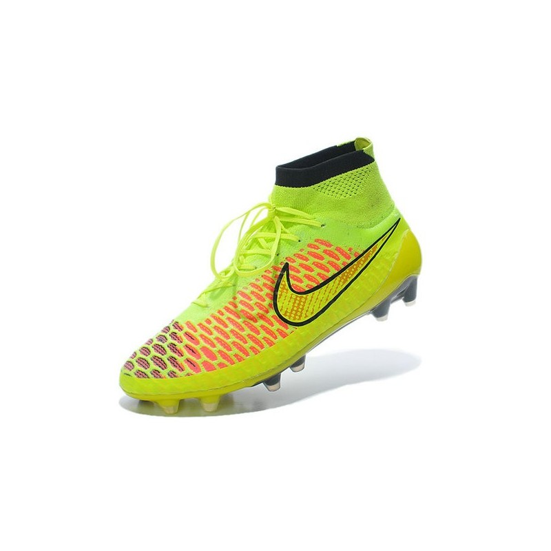 buy online 167ef fdc38 Nike Magista Obra FG Soccer Cleats - Low Price Volt Metallic Gold Coin  Black Hyper Punch