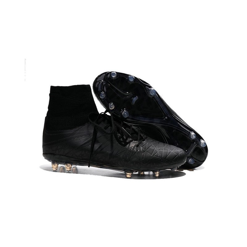 2016 nike hypervenom phantom ii fg fg football boots all black