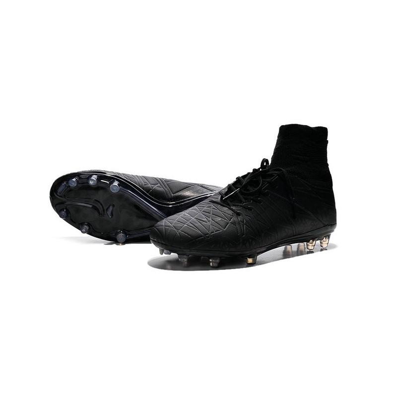 2016 nike hypervenom phantom ii fg fg football boots all black
