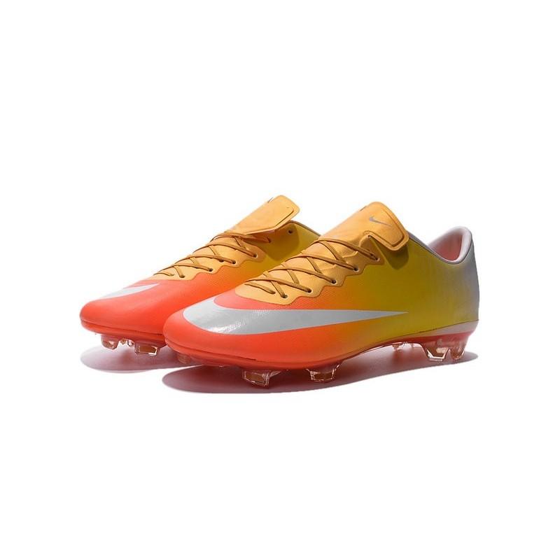 Nike Mercurial Vapor Ix Cr7 Edition (whiteorangeyellow)