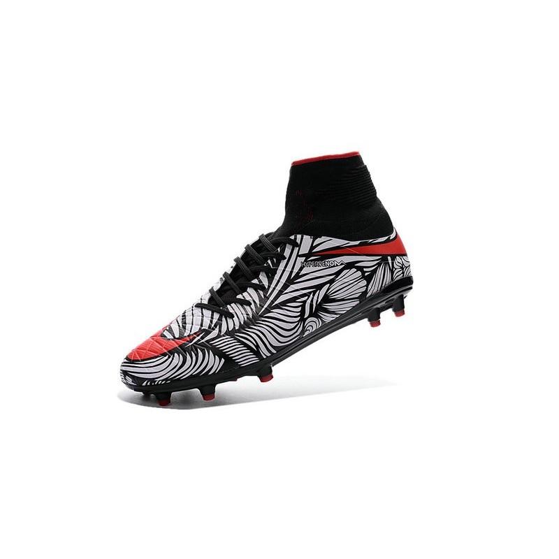 370abd43b ... order new soccer cleats nike hypervenom phantom 2 fg black bright  crimson white a4594 3bd48