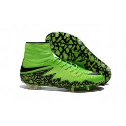 2016 Nike HyperVenom Phantom II FG FG Football Boots Green Black