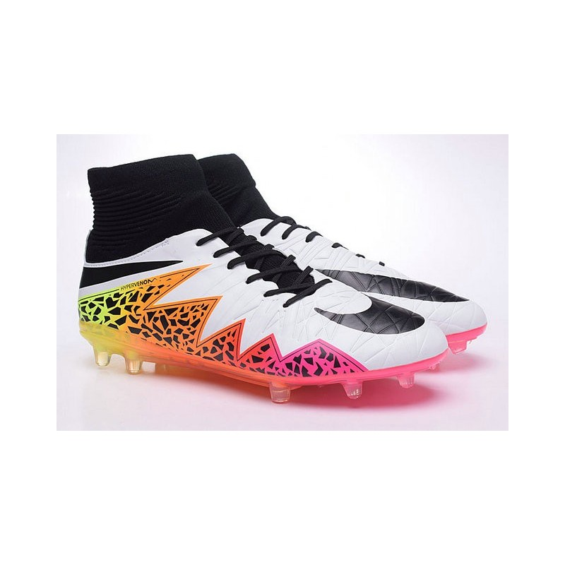 best service 9df9b c5f3c promo code for new soccer cleats nike hypervenom phantom 2 fg white orange  pink black 7b024