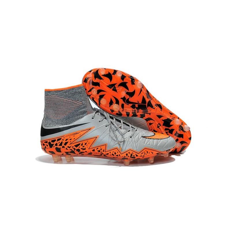 d113fc917 ... inexpensive 2016 nike hypervenom phantom ii fg fg football boots wolf  grey black orange 936e1 cb1c6
