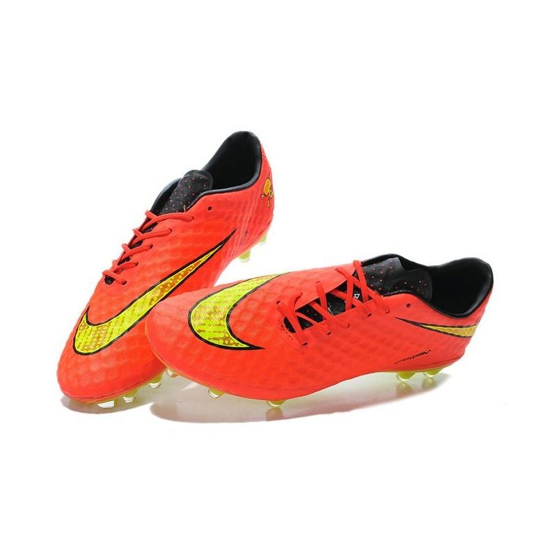bd101294e ... uk new soccer cleats nike hypervenom phantom fg crimson volt hyper  punch mtlc f84c2 e6ed6