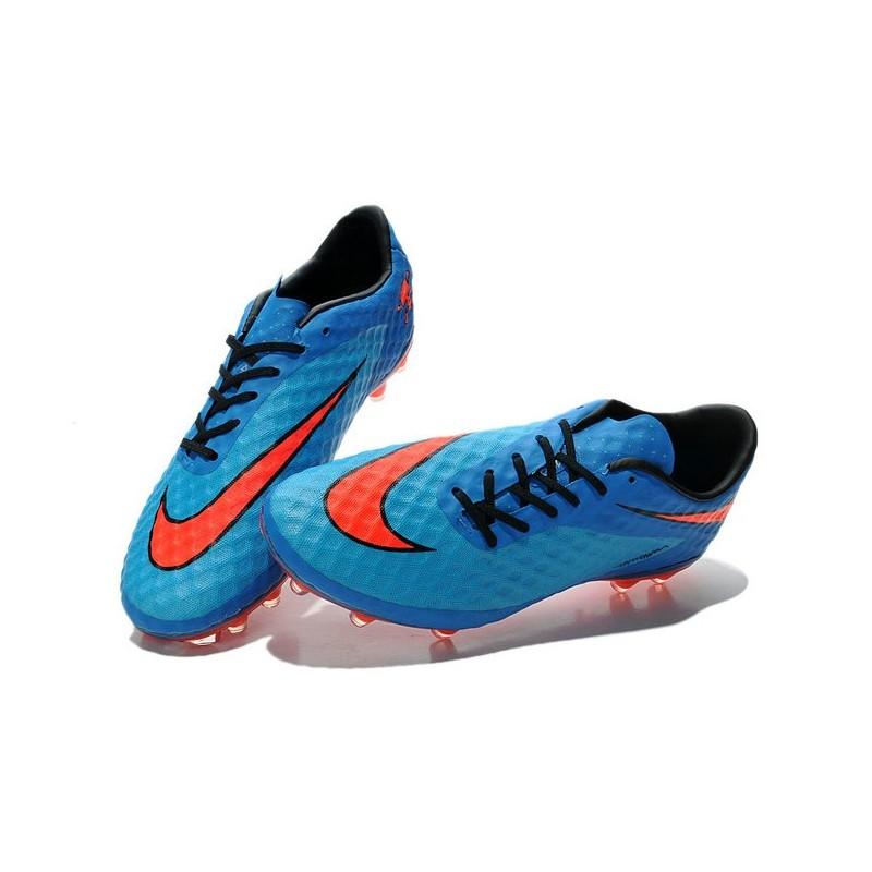 52383001da6 New Soccer Cleats - Nike HyperVenom Phantom FG Sapphire Blue Red