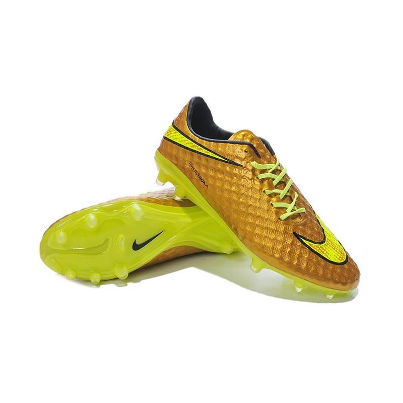 64bbc7173569 Shoes For Men Nike HyperVenom Phantom FG Football Boots Neymar Premium Gold  Volt Black