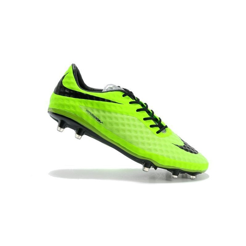 Shoes For Men Nike HyperVenom Phantom FG Football Boots Lime Black 550b6b62090a