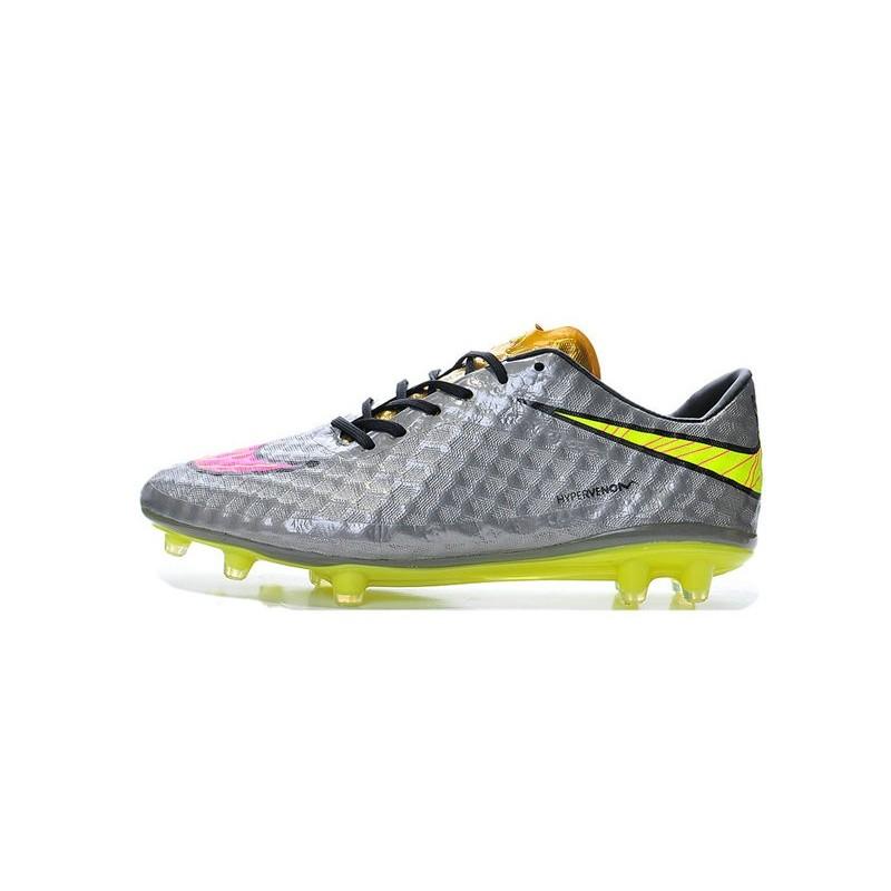 4b2278752 Shoes For Men Nike HyperVenom Phantom FG Football Boots Chrome Hyper Pink  Metalic Gold Cn