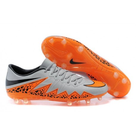5cda0cc7a 2016 Mens's Soccer Shoes - Nike HyperVenom Phantom FG Grey Orange Black