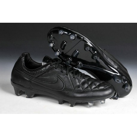 Nike Men's Tiempo Legend V FG Soccer Cleats all Black