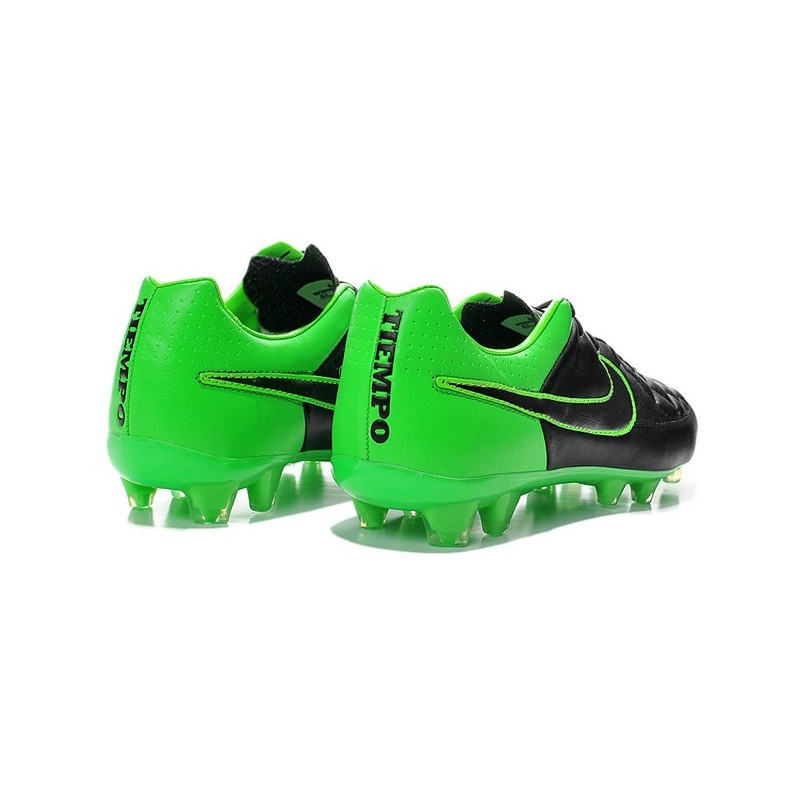 Nike Men s Tiempo Legend V FG Soccer Cleats Green Black cb8c1062d3