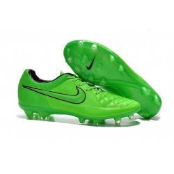 Nike Men's Tiempo Legend V FG Soccer Cleats Green Strike Black