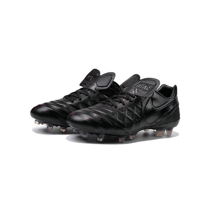 New Shoes Nike Tiempo Legend Vi Fg Soccer Cleats Black Out