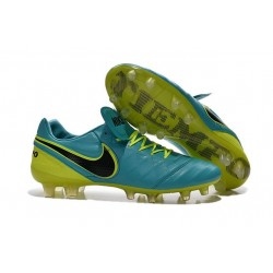 New Shoes - Nike Tiempo Legend VI FG Soccer Cleats Blue Volt Black