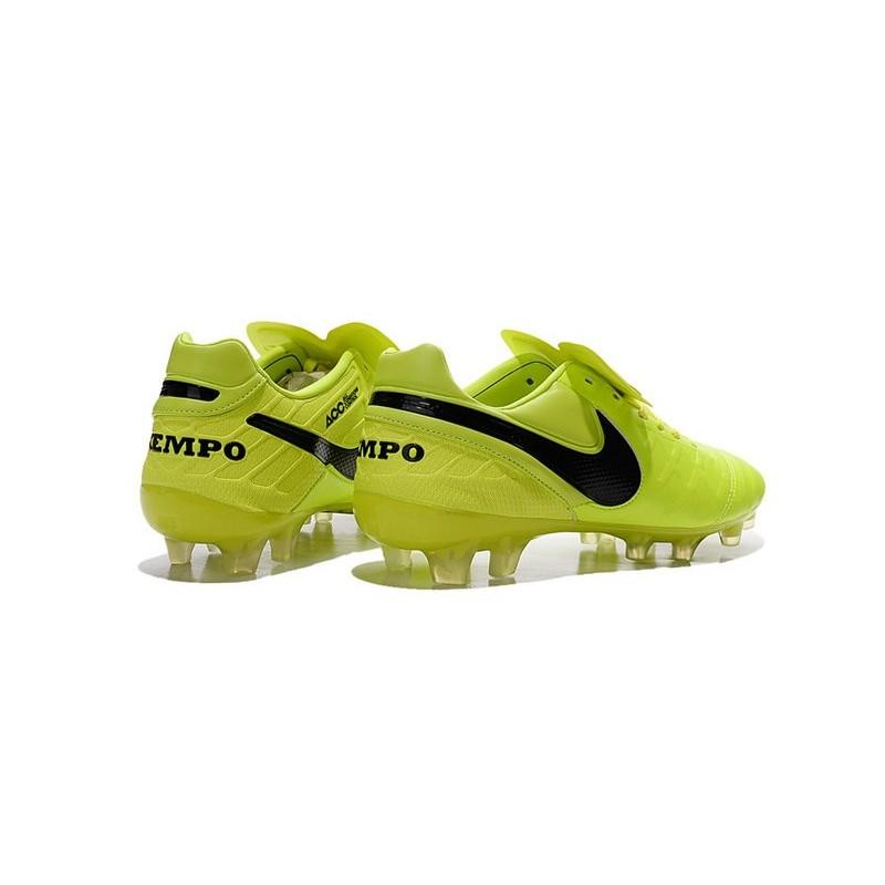 timeless design 2964b 92fea ... aliexpress new shoes nike tiempo legend vi fg soccer cleats volt black  54180 aa390