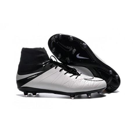 Nike HyperVenom Phantom II FG Men s Firm-Ground Soccer Cleats Light Bone  Black c5da32989b5f7