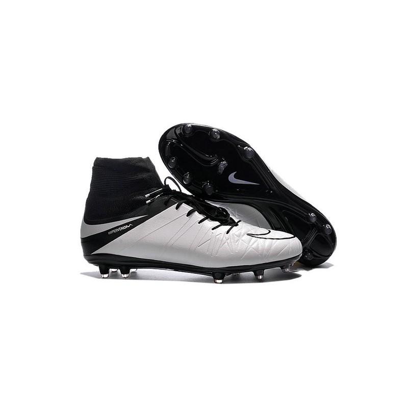Nike HyperVenom Phantom II FG Men s Firm-Ground Soccer Cleats Light Bone  Black e5d9d5424