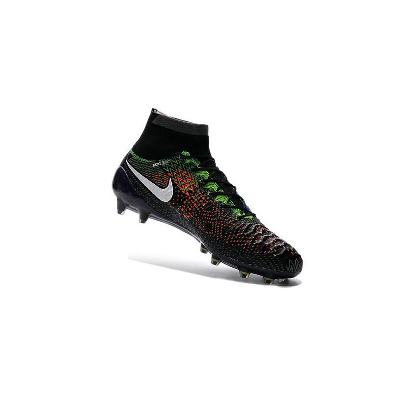 2016 Nike Magista Obra Firm Ground Soccer Shoes BHM Black