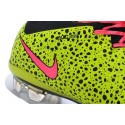 Best Nike Men's Mercurial Superfly IV FG Football Cleats Leopard Volt Pink Black