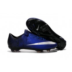 2016 Best Shoes - Nike Mercurial Vapor X FG Deep Royal Blue Metallic Silver Racer Blue