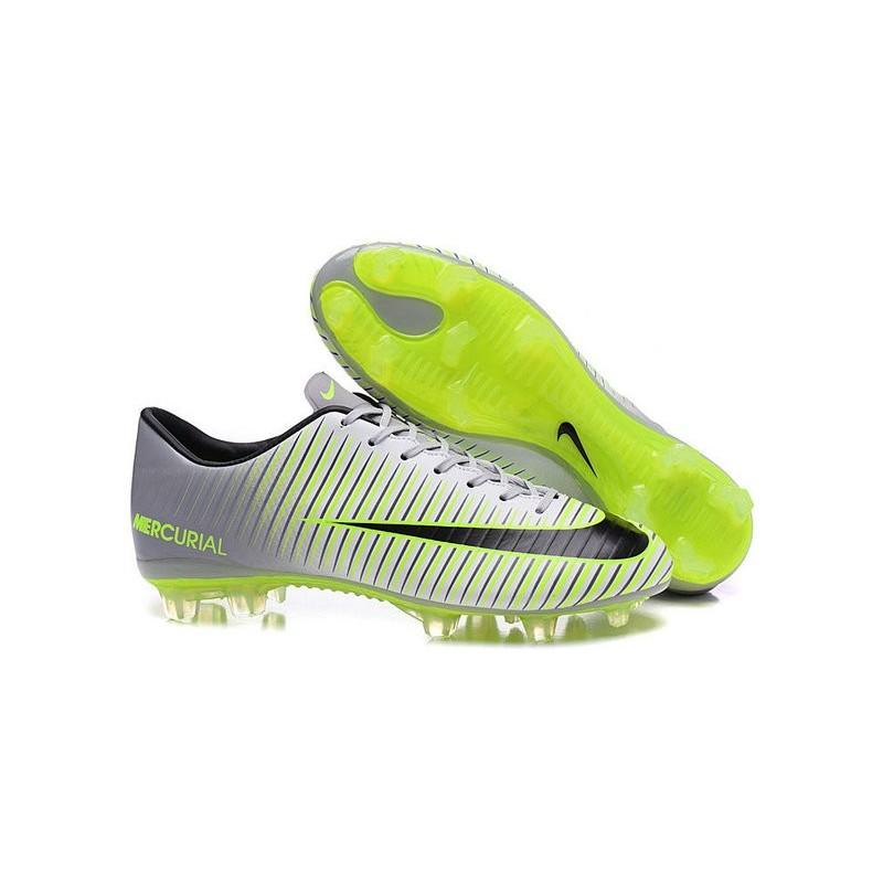 a42e56502 ... 2016 New Shoes - Nike Mercurial Vapor XI FG Pure Platinum Black Ghost  Green Hyper Turquoise ...