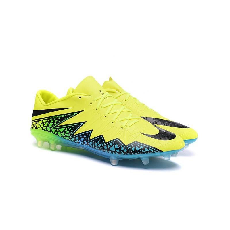 07fc3e85df78 Shoes For Men Nike HyperVenom Phinish FG Football Boots Volt Black Hyper  Turquoise