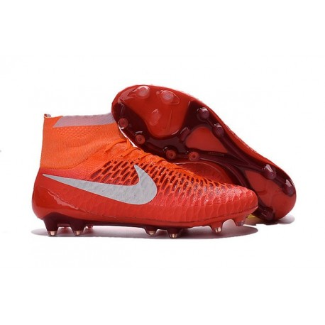 New Shoes - Nike Magista Obra Firm-Ground Football Cleats Orange White