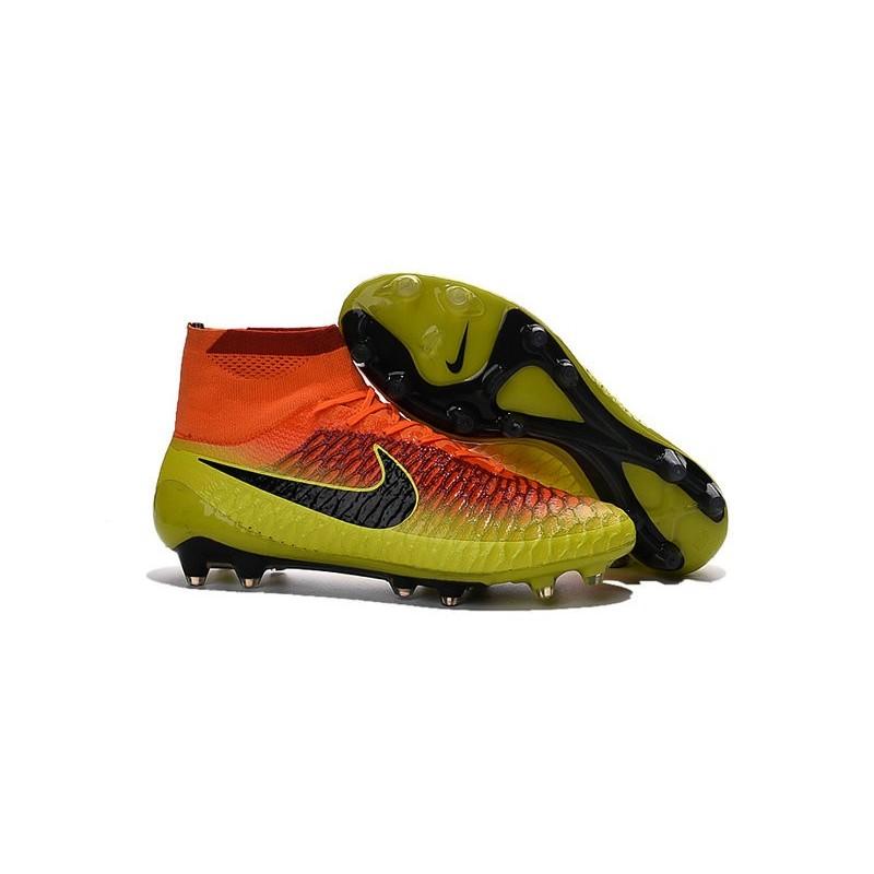 Nike Magista Obra FG Soccer Cleats - Low Price Total Crimson Black Bright  Citrus
