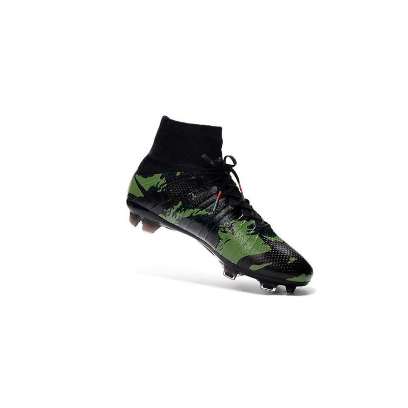 90d529eb85ea New Nike Mercurial Superfly IV FG Football Shoes Camo Black