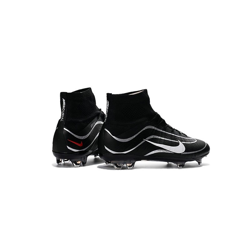 the best attitude ea9c5 fcc22 Best Nike Men s Mercurial Superfly IV Heritage FG Football Cleats Black  Silvery