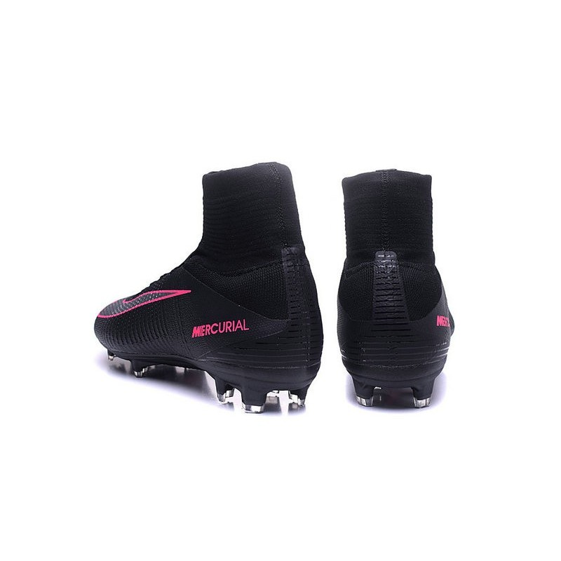 new style a41b6 46ed7 Football Boots For Men Nike Mercurial Superfly 5 FG Pitch Dark Pack - Black  Pink Blast