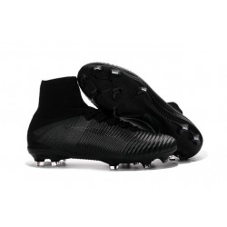 Football Boots For Men Nike Mercurial Superfly 5 FG all Black