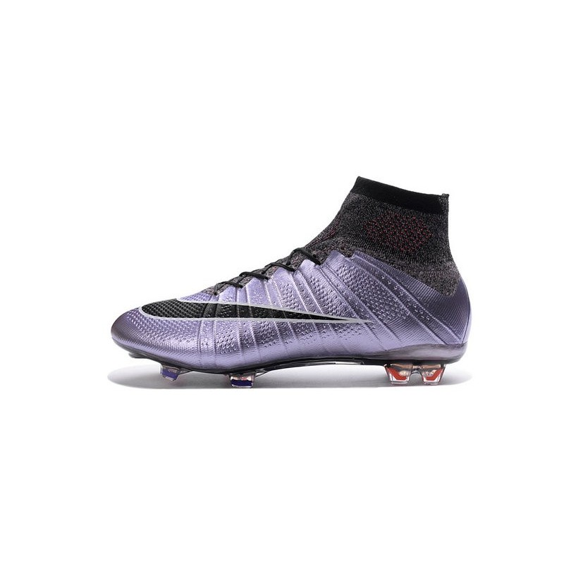 873ee2cd4f5c Nike Men s 2016 - Mercurial Superfly 4 FG Soccer Shoes Liquid Chrome Urban  Lilac Bright Mango Black
