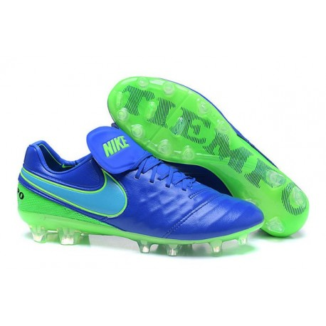 New Shoes - Nike Tiempo Legend VI FG Soccer Cleats Blue Green