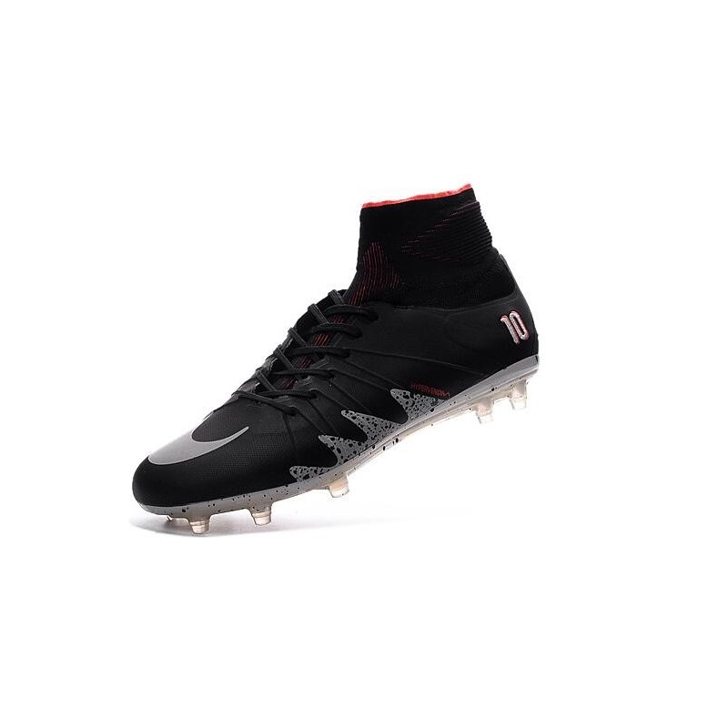New Soccer Cleats Nike HyperVenom Phantom 2 FG NJR x Jordan Black Light  Crimson White Metallic ...