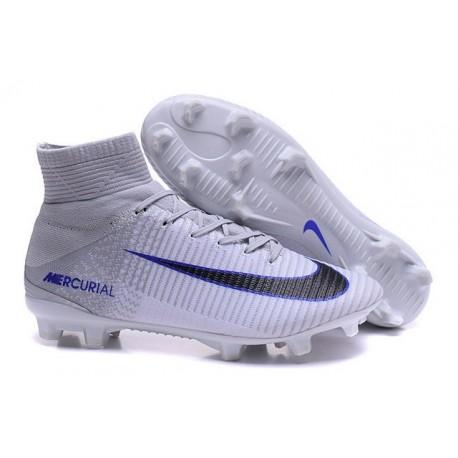 Nike Mercurial Superfly V FG White Grey