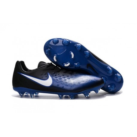 Nike Magista Opus II FG - New Football Shoes Blue Black White