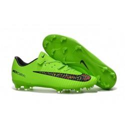 2016 New Shoes - Nike Mercurial Vapor XI FG Green Black