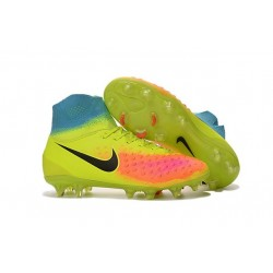New Nike Shoes - Nike Magista Obra II FG Soccer Boots Volt Black Total Orange