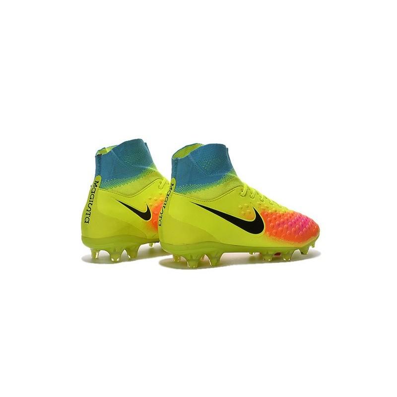 newest 0ebf8 9f78f New Nike Shoes - Nike Magista Obra II FG Soccer Boots Volt Black Total  Orange