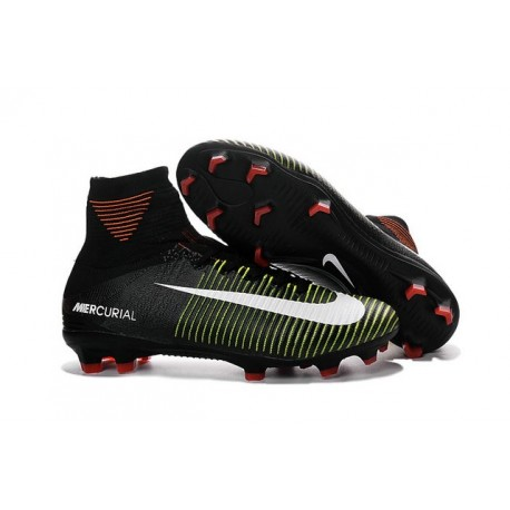 size 40 49211 85246 Football Boots For Men Nike Mercurial Superfly 5 FG Black Violet Volt