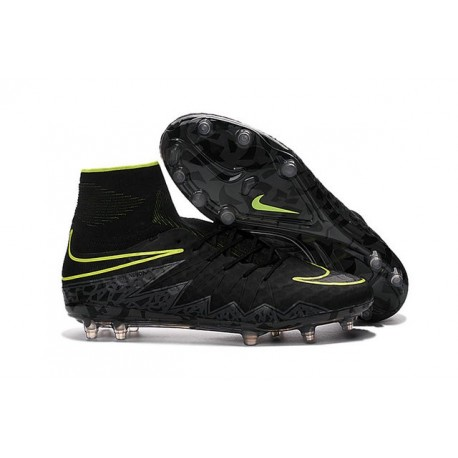 2016 Nike HyperVenom Phantom II FG FG Football Boots Black Volt
