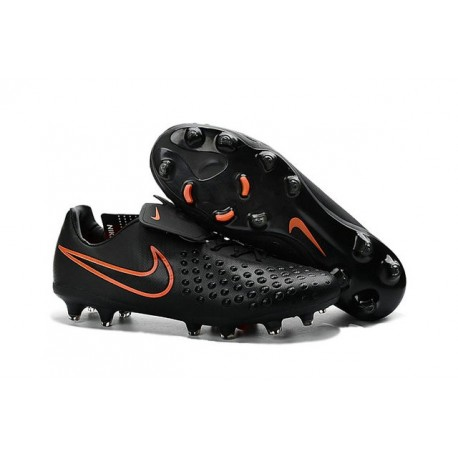 Nike Magista Opus II FG - New Football Shoes Black Total Crimson